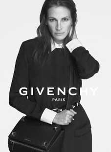 ჯულია რობერტსი Givenchy–ს სახე გახდა