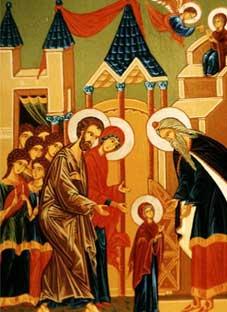 დღეს ღვთისმშობლის ტაძრად მიყვანების დღეა