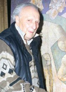 ხელოვნების ქურუმი უხუცეს ფერმწერს