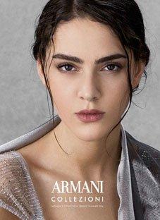 თაკო ნაცვლიშვილი Armani-ს სახე გახდა