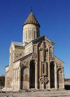 დამახინჯებული სამთავისის ტაძარი