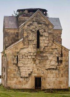 ასეთ მდგომარეობაშია ბედიის ტაძარი დღეს