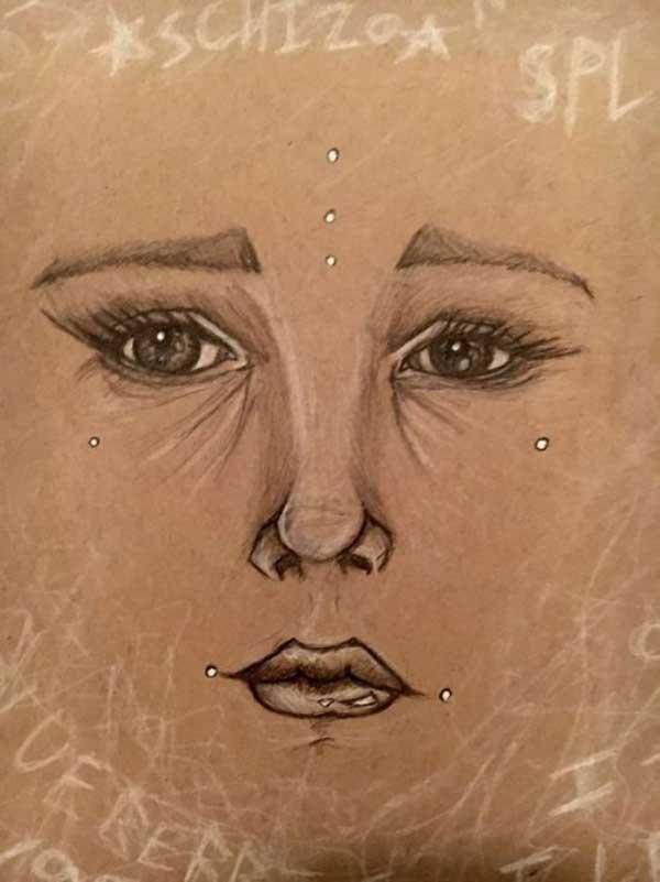 ჰალუცინაციებით შექმნილი ნახატები