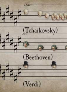მსოფლიოს ცნობილი კომპოზიტორები ერთ კომპოზიციაში - ნაწილი II