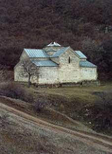 ვანდალიზმი ნიჩბისის ეკლესიაში