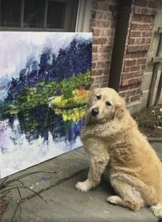 ასე აღიქვამენ ძაღლები ხელოვნებას