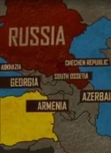 საქართველოს რუკის დამახინჯება ამერიკულ ფილმში