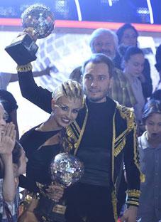 """""""ცეკვავენ ვარსკვლავები"""" გიორგი ბახუტაშვილმა მოიგო"""
