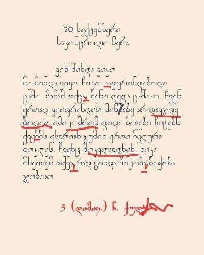 ნაირა გელაშვილის წერილი