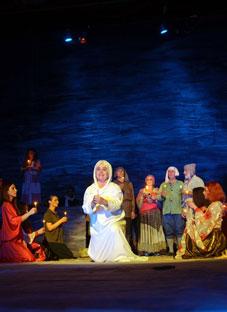 ოზურგეთის თეატრის გასტროლი თბილისში