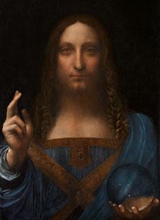 ლეონარდო და ვინჩის იესო ქრისტე კოლოსალურ ფასად გაიყიდა