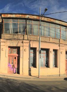 ხანძარი თოიძის სამხატვრო სასწავლებლის შენობაში