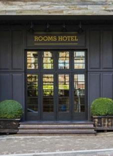 თბილისში ROOMS HOTEL იწვის