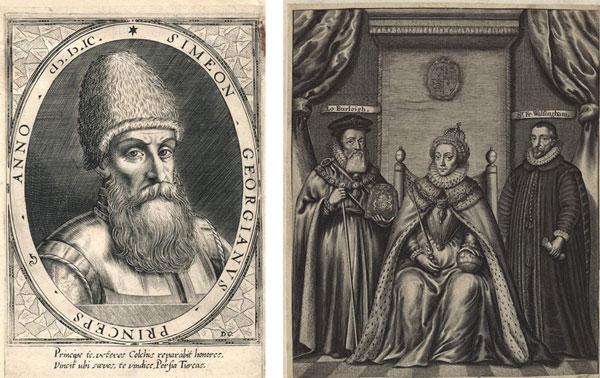 საქართველო მარიამ ტიუდორის, ელისაბედ I-ის და ჰენრი VIII-ის დოკუმენტებში