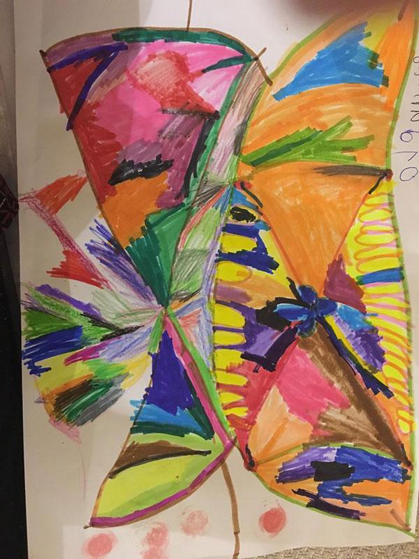 გაიცანით 4 წლის ელენე ცაგარელი - ხატვის გენიოსი