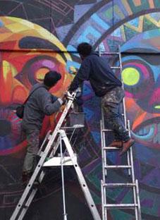 ქუჩაში კედელზე ხატვისთვის დაგაჯარიმებენ