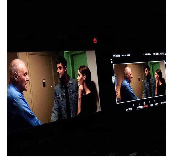 ირაკლი კვირიკაძეს ენტონი ჰოპკინსთან ერთად ფილმში იღებენ
