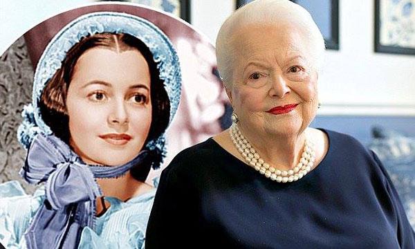 """ლეგენდარული """"ქარწაღებულნის"""" ვარსკვლავი ილივია დე ჰევილენდი 102 წლის გახდა"""