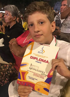 დიმიტრი გოზალიშვილმა საერთაშორისო ფესტივალზე გაიმარჯვა
