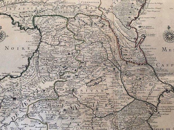გინახავთ სულხან საბა ორბელიანის შედგენილი რუკა?