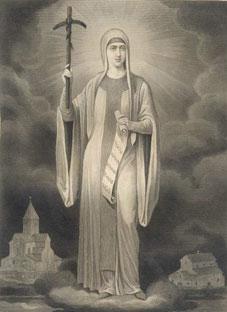გრიგოლ რობაქიძის მიძღვნა წმინდა ნინოს