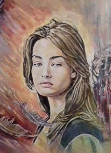 იტალიაში მოკლული თამარ მოდებაძის ულამაზესი ნახატები