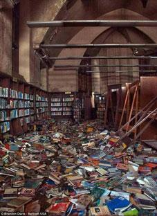 მარკ ტვენის განადგურებული ბიბლიოთეკა