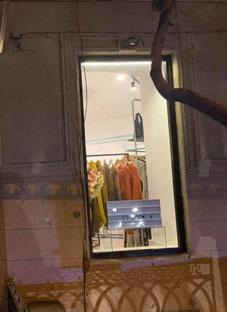 ბარნოვის ქუჩაზე დიზაინერების მაღაზია გაძარცვეს