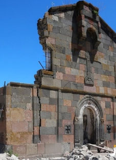 სამცხე-ჯავახეთში სომეხმა ვანდალებმა ქართული ეკლესია დაანგრიეს