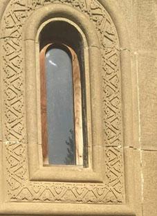 ვანდალიზმი წმინდა ილია მართლის სახელობის ეკლესიაზე