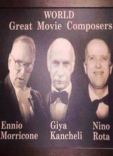 გია ყანჩელი - მსოფლიოს სამ უდიდეს კომპოზიტორს შორისაა