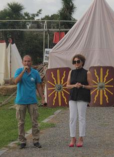 ელისო ბოლქვაძე Art-ბანაკის მონაწილეებს შეხვდა