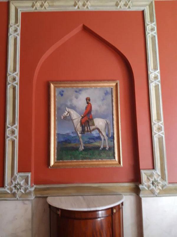 ხელოვნების სასახლის ძვირფასი ექსპონატები პრეზიდენტის სასახლეში