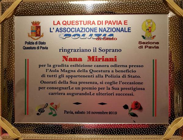 იტალიური ჯილდო ნანა ქავთარაშვილს