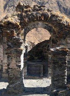 დანგრევისთვის განწირული ეკლესია პირიქითა ხევსურეთში