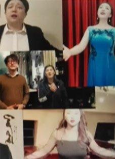 ჩინელი ოპერის მომღერლების ორიგინალური სოლიდარობა იტალიას