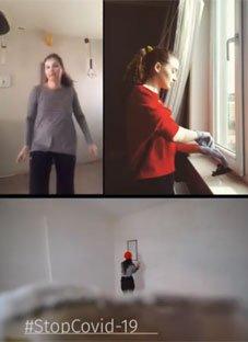 პანტომიმის თეატრის მნიშვნელოვანი ვიდეო გზავნილი
