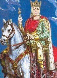 ლეგენდა თამარ მეფესა და შოთა რუსთაველზე