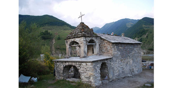 ნაღვარევის წმინდა გიორგის ეკლესია საოცარი ისტორიით