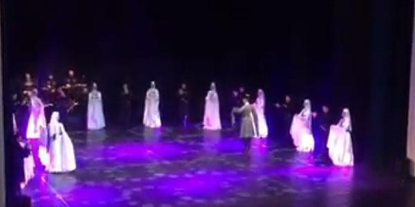 უხელფასობა აფხაზეთის სიმღერისა და ცეკვის ანსამბლში