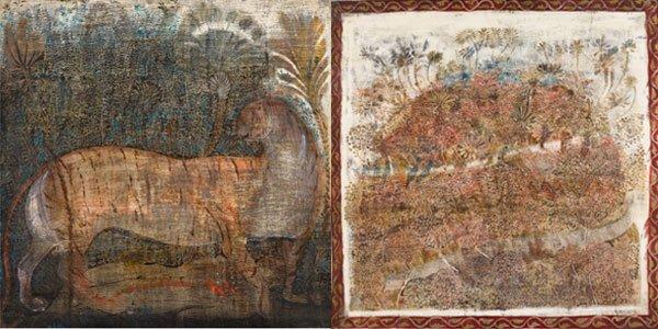 მერაბ აბრამიშვილის ნამუშევრები სოთბის აუქციონზე გაიყიდა