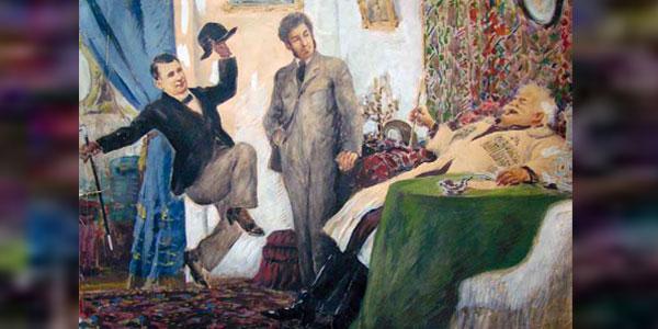 ვასო აბაშიძე და ქართული თეატრის დღე