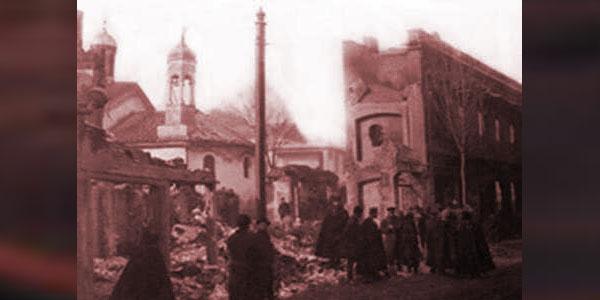 მიწასთან გასწორებული წმინდა ეკატერინეს ეკლესია აბანოთუბანში