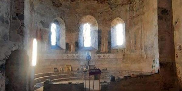 კახეთში უნიკალური ეკლესია დააზიანეს