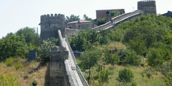 სიღნაღის ციხე-გალავანი - სიდიდით პირველი ევროპაში