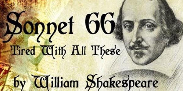William Shakespeare - sonnet 66