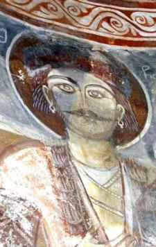 საყურიანი წინაპრები ქართული ტაძრების ფრესკებზე