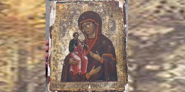 საქართველოში დაბრუნებული ღვთისმშობლის უნიკალური ხატი