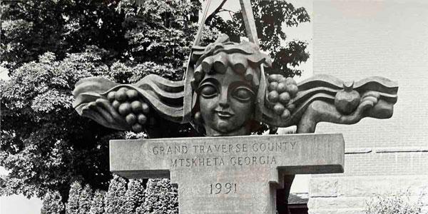 მერაბ ბერძენიშვილის ნამუშევარი მიჩიგანის შტატში